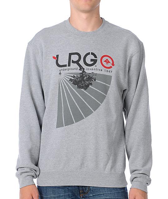 LRG Underground 47 Grey Pullover Sweatshirt