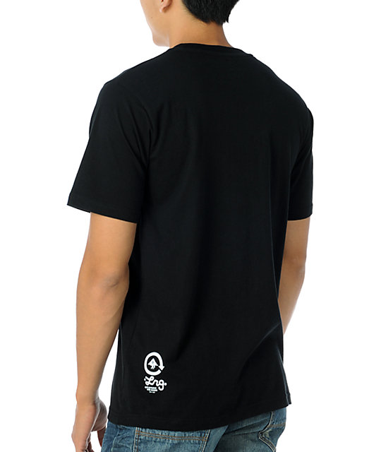LRG Uplifting The Kids Black T-Shirt