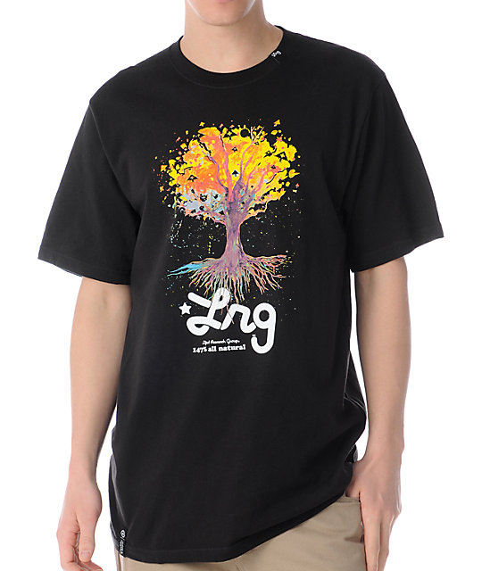 LRG Vision Tree Black T-Shirt