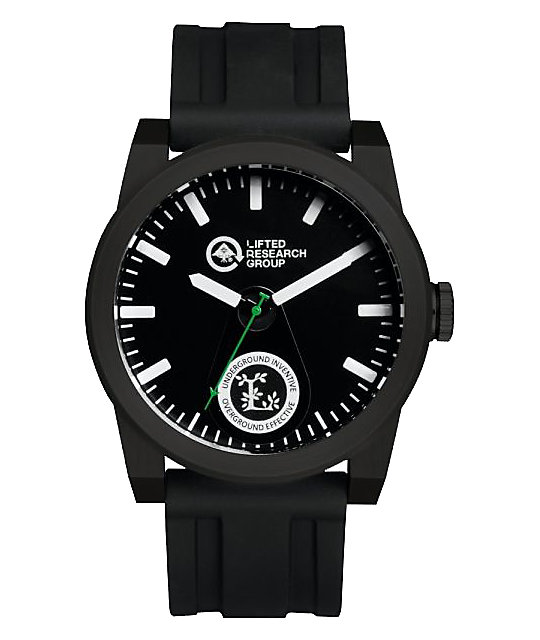 LRG Volt Black Analog Watch