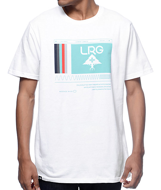 LRG Wave Markers White T-Shirt