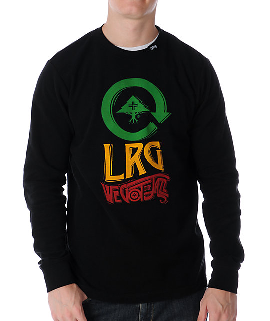 LRG We Got The Jazz Black Thermal
