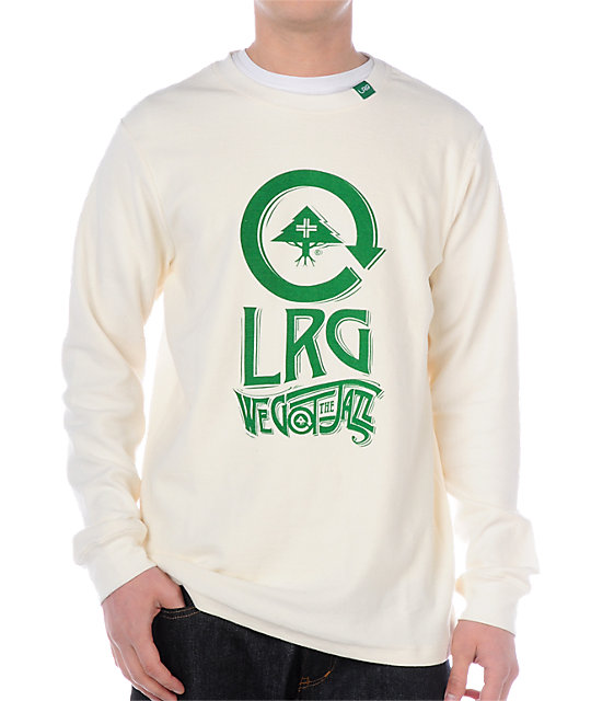 LRG We Got The Jazz Cream Thermal