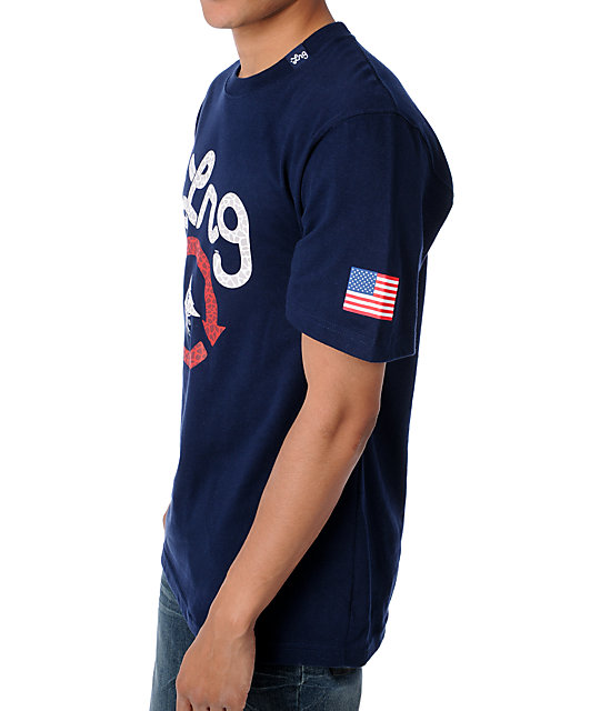 LRG Yacht Rock Navy T-Shirt