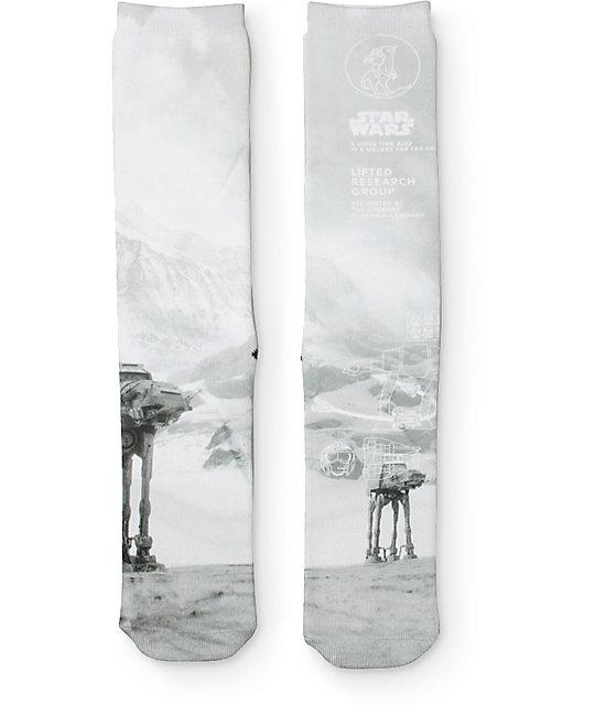 LRG x Star Wars Episode 4 & 5 Snow Crew Socks