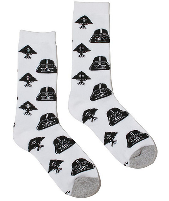 LRG x Star Wars Tree Empire Vader Crew Socks