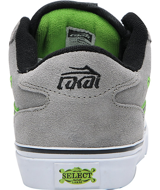 Lakai Boys Manchester Select Patch Kit Skate Shoes