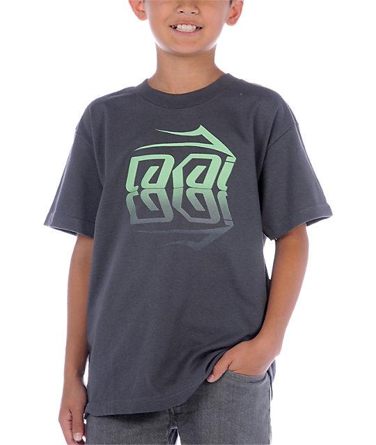 Lakai Boys Mirror Grey T-Shirt