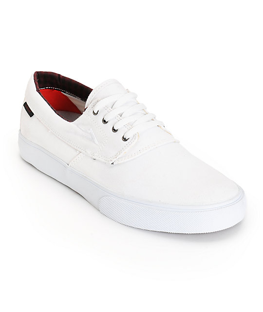 Lakai Camby Shoes White