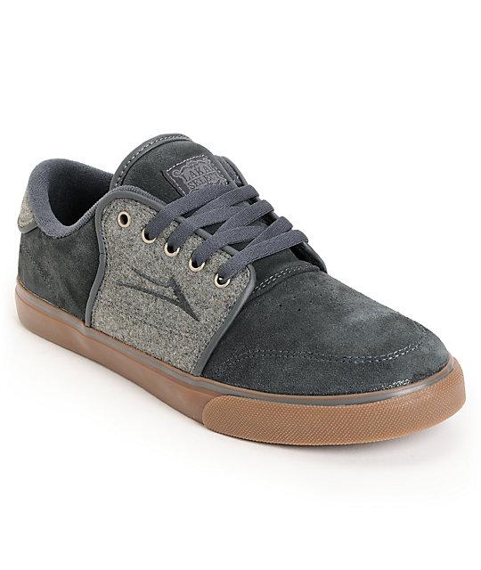 Balance Board Zumiez: Lakai Carlo Grey Wool & Gum Skate Shoes At Zumiez : PDP