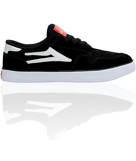 Lakai Carroll 5 Black Suede Skate Shoes