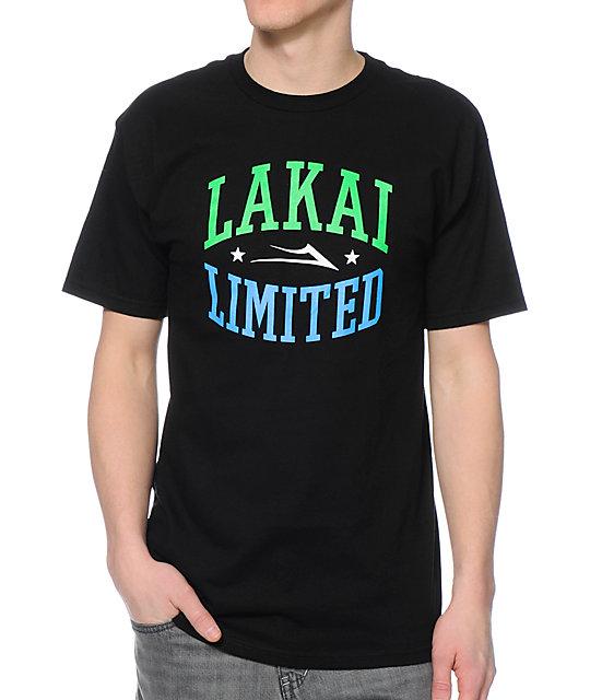 Lakai Forum Black T-Shirt