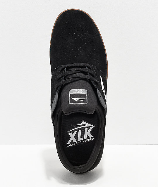 Zapatos De Negro Lakai Ante Skate Fremont TOPukZXi