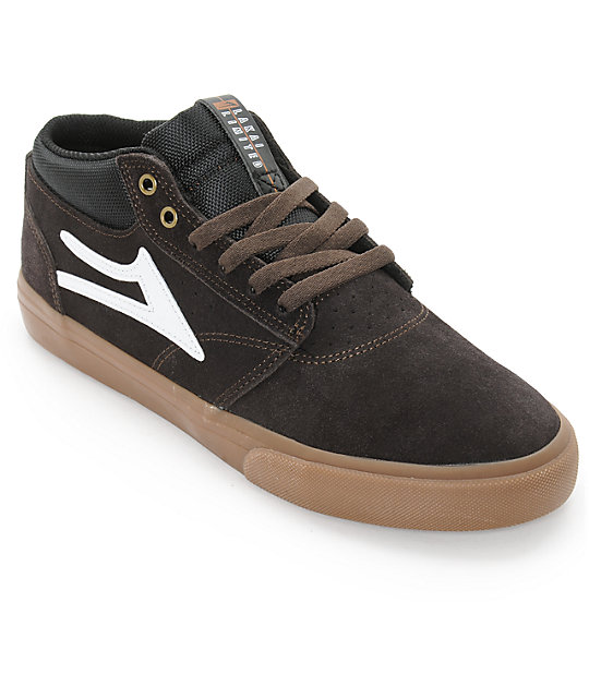 Lakai Griffin Mid Skate Shoes