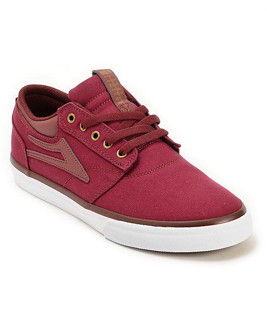 Lakai Griffin Port Canvas Skate Shoes