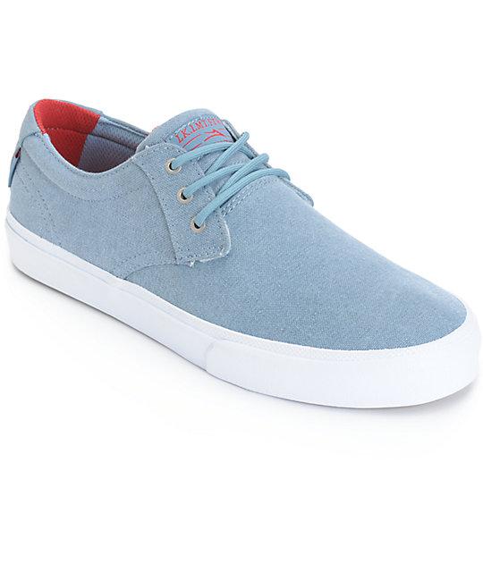 Lakai MJ Stone Wash Skate Shoes