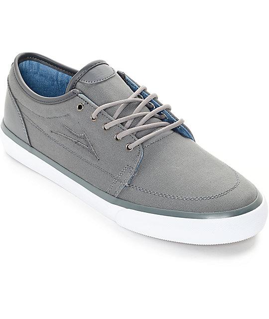 Lakai Madison Cement Canvas Skate Shoes