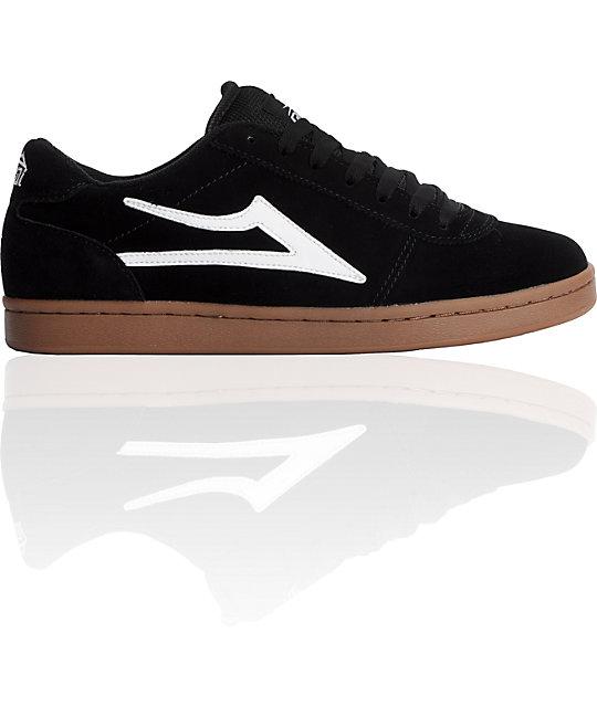 Lakai Manchester Black & Gum Shoes