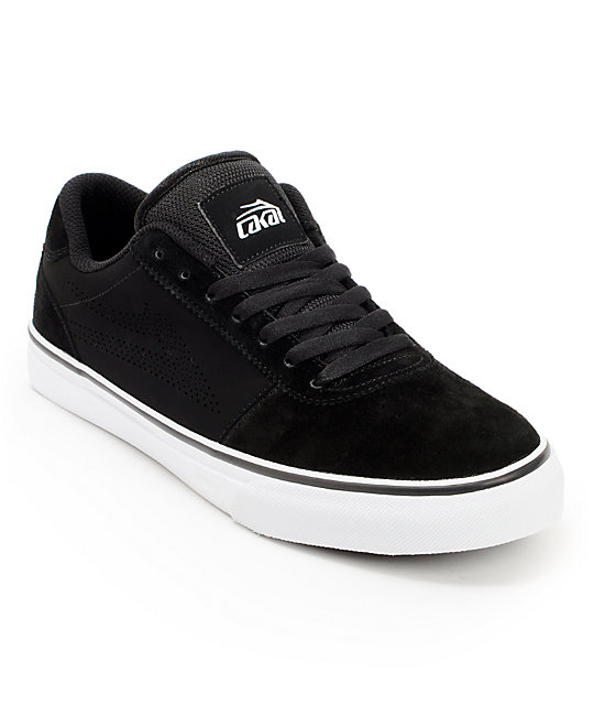 Lakai Manchester Black Nubuck Skate Shoes
