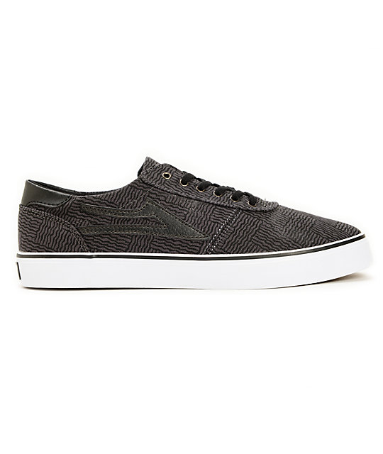 Lakai Manchester Lean Abstract Skate Shoes