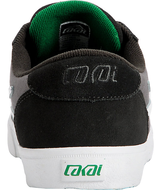 Lakai Pico Black & Grey Suede Shoes