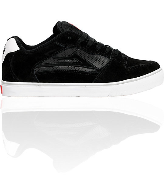 Lakai Rick Select Black & Grey Suede Shoes