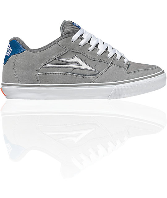 Lakai Rick Select Grey Suede Shoes