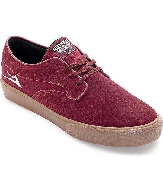 Lakai Riley Hawk Port Suede Skate Shoes