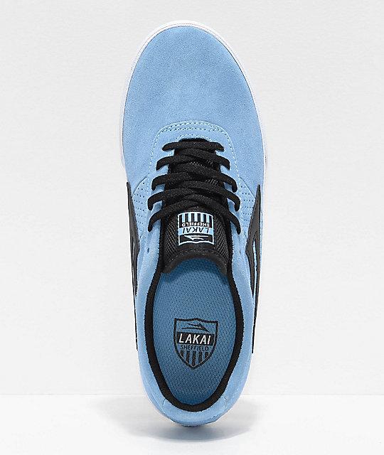 Negro Y Sheffield Azul De Skate Zapatos Lakai En ClaroBlanco LAR435jq