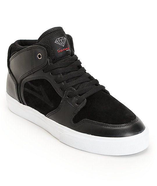 Lakai X Diamond Supply Co. Telford Black & White Skate ... - photo#13