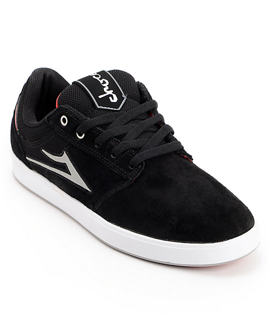 Lakai x Chocolate Linden Black Skate Shoes