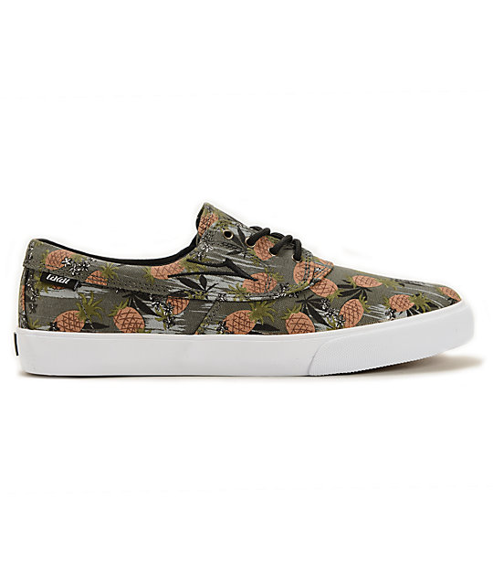 Lakai x FTC Camby Pineapple Express Skate Shoes