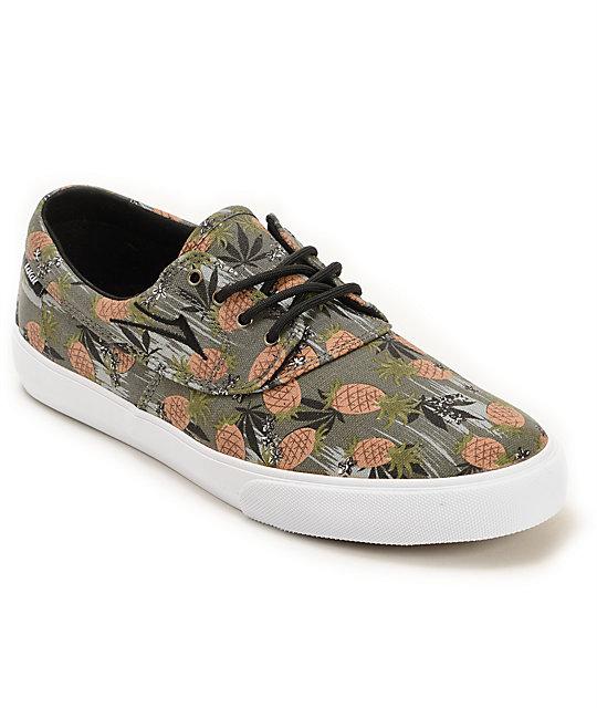 Lakai x FTC Camby Pineapple Express Skate Shoes