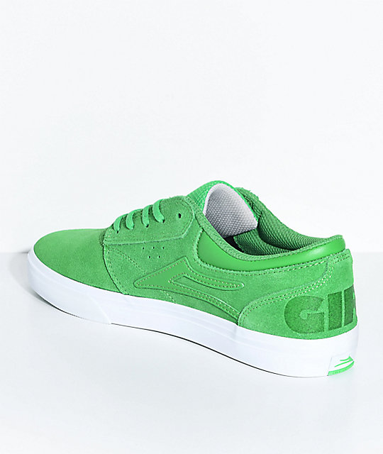 Lakai x Girl Griffin Green & White Skate Shoes