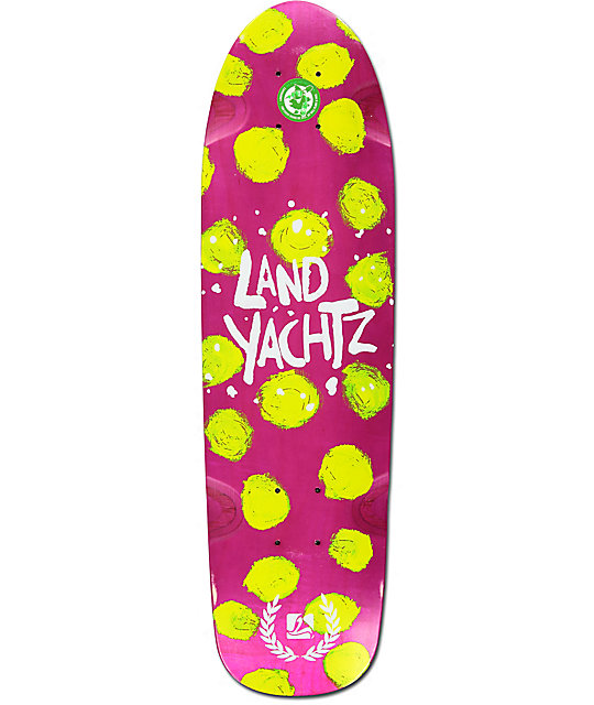 "Landyachtz Dinghy Polka Dots 28.5""  Cruiser Skateboard Deck"