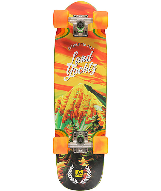 "Landyachtz Mountain Man Dinghy 28.5""  Cruiser Complete Skateboard"
