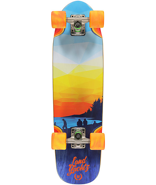 "Landyachtz Sunset Dinghy 28.5""  Cruiser Complete Skateboard"