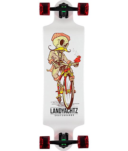 Landyachtz Switch Skeleton 35 Quot Longboard Complete