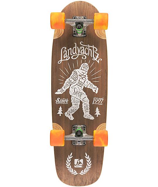 "Landyachtz Tug Boat Big Foot 30""  Cruiser Complete Skateboard"