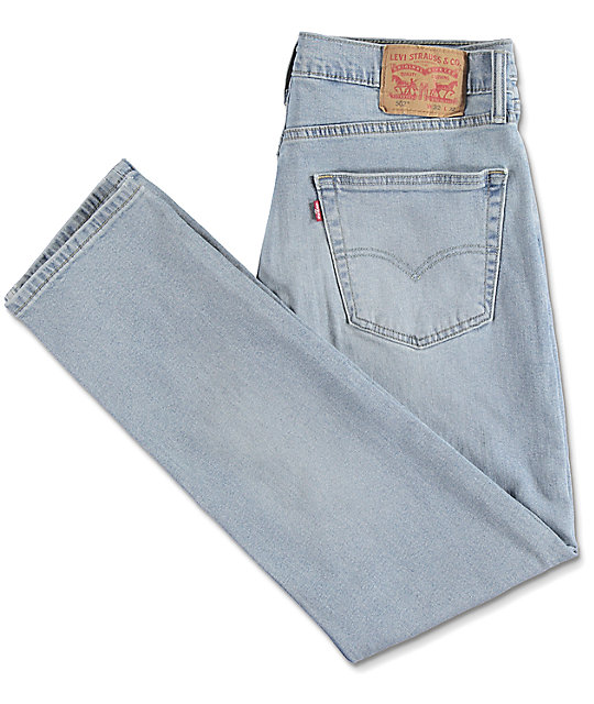 Levi Reznor 502 Light Blue Denim Jeans