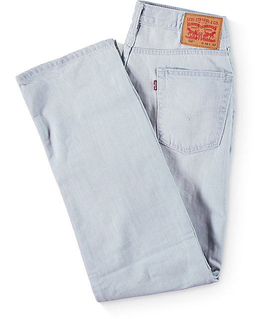 Levi's 514 Milkweed Light Straight Fit Jeans