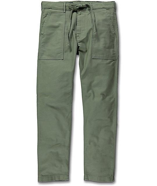 Levi's Battalion Olive Twill 502 Pants
