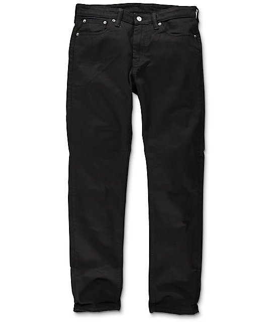 Levi's Commuter 511 Black Slim Fit Jeans at Zumiez : PDP