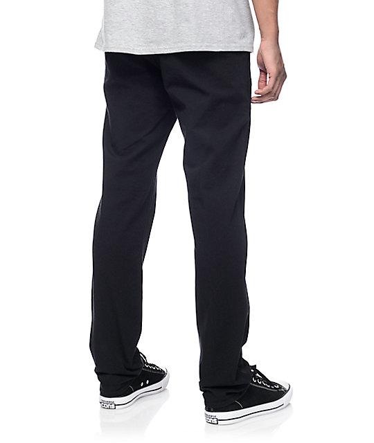 levi 39 s commuter 511 black slim fit pants zumiez. Black Bedroom Furniture Sets. Home Design Ideas