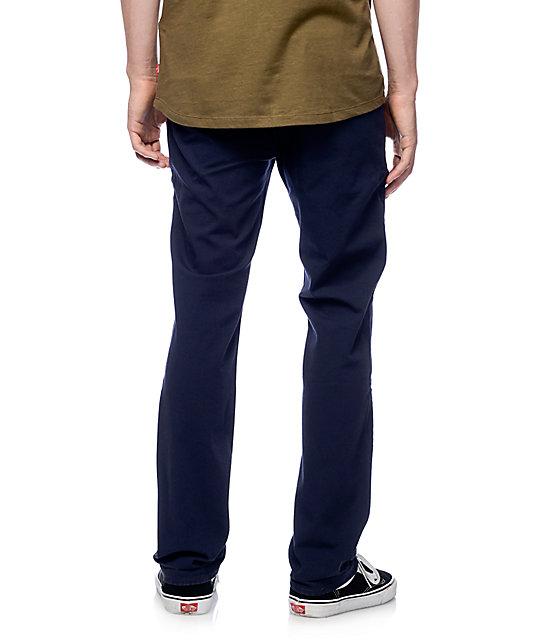 levi 39 s commuter 511 common blue slim fit pants zumiez. Black Bedroom Furniture Sets. Home Design Ideas