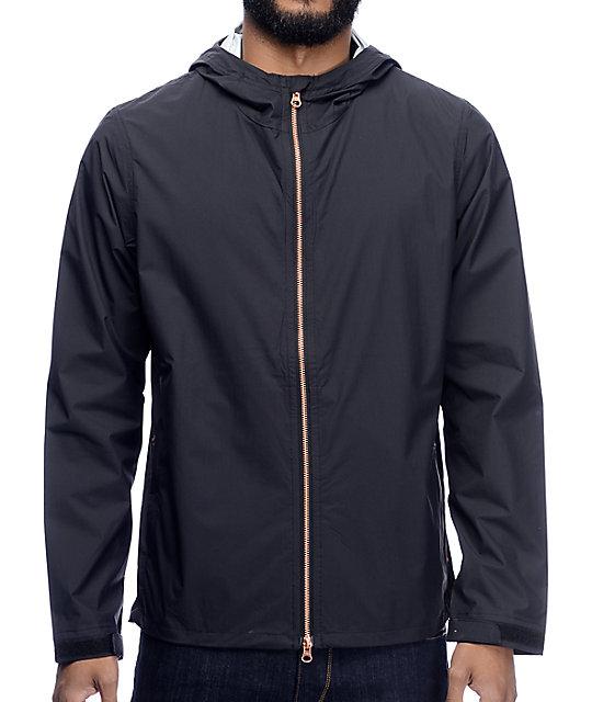 Levi's Commuter Echelon Jet Black Windbreaker Jacket