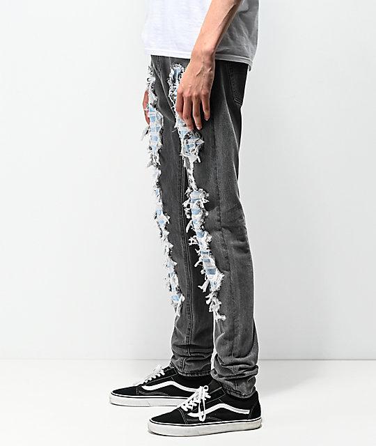 ball De Jeans Stack Scratch Negra Levi's Lo Mezclilla PZikuX