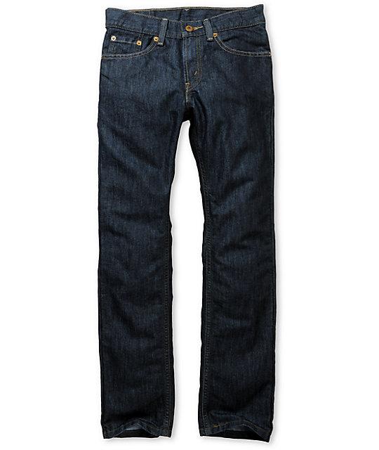 Levis 511 Boys Bacano Blue Skinny Jeans