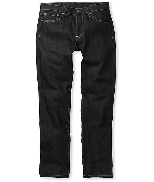 Levis 511 Dragon Black Skinny Jeans