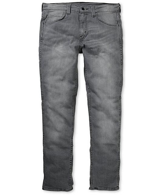 Levis 511 Grey Sky Skinny Jeans